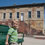 Hanging out in downtown Macon.