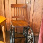 FDR's wheel chair - those have come a long way since then!