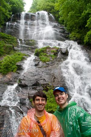 William and Jym at Amicalola Falls