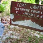 Trey at Fort Lawton in Magnolia Springs State Park
