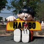 At the Haribo Museum in Uzes, France