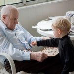 Playing puzzles with Peepaw