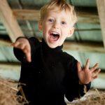 Fun in the hay!